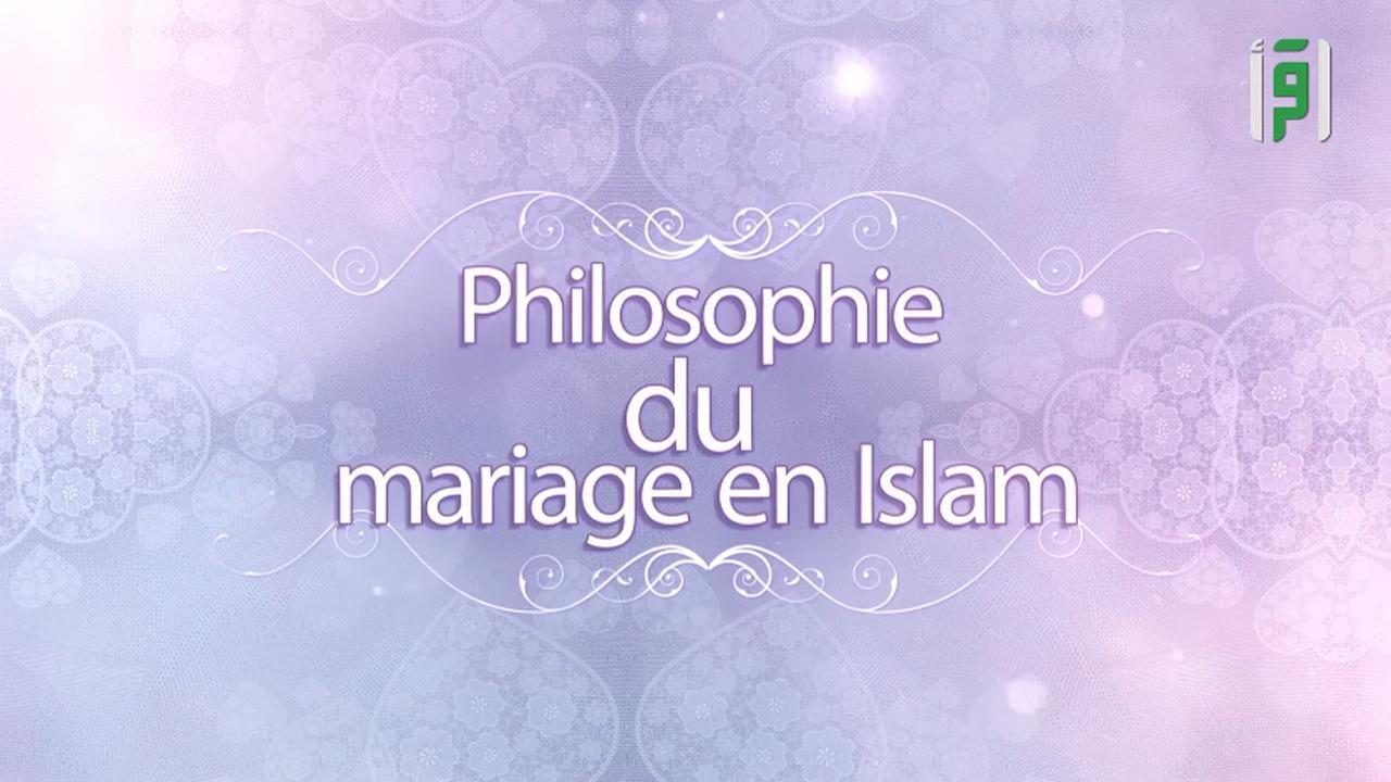 La philosophie du mariage en islam
